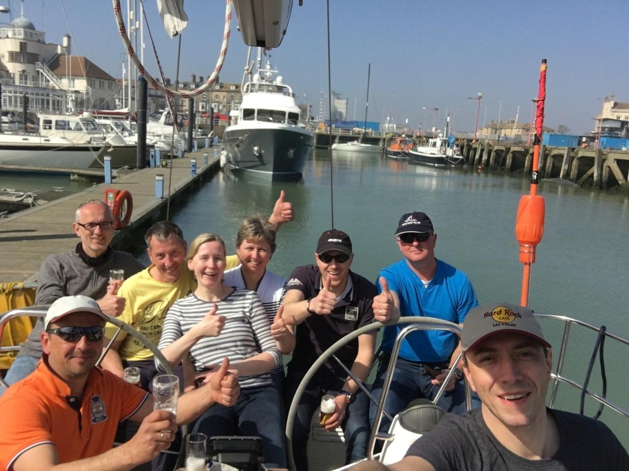 Skippertraining IZD-Ausbildung 2017